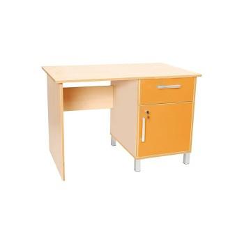 Akça Öğretmen Masası Sarı