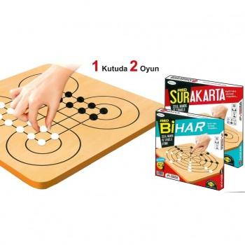 Surakarta ve Bihar Zeka Mantık Ve Akıl Oyunu