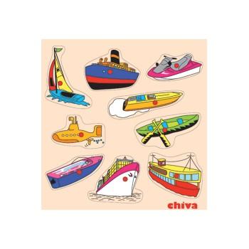 Deniz Taaşıtları Puzzle