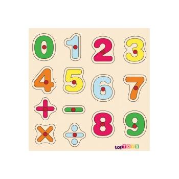 Sayılar Ahşap Puzzle