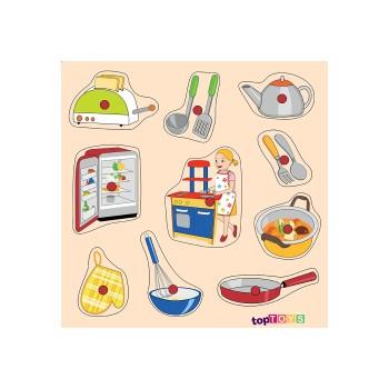 Mutfağımız Ahşap Puzzle