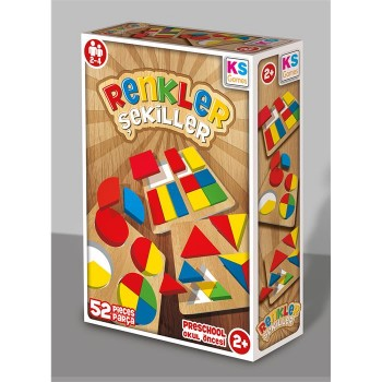 "KS Games Renkler ve Şekiller ""Görsel"" Matematik"