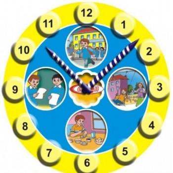 Saat Ahşap Puzzle
