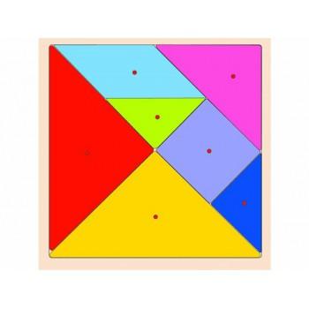 Tangram Ahşap Puzzle