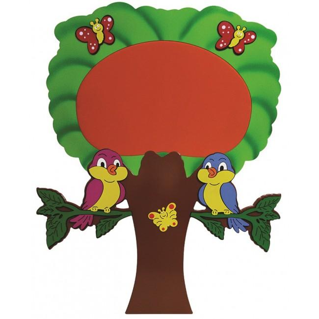 Ağaç Pano 180135 Cm Arc Okul öncesi Eğitim Araçları